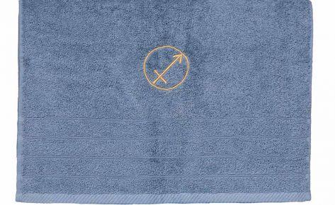 Πετσέτα ραφ με κεντημένο ζώδιο